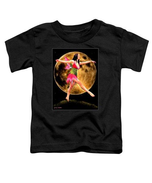 Moonlight Stroll Of A Fairy Toddler T-Shirt