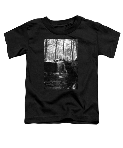 Moonlight Waterfall Toddler T-Shirt