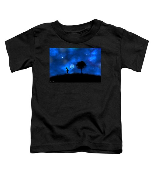 Moonlight Shadow Toddler T-Shirt