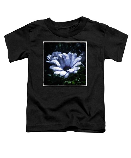 Toddler T-Shirt featuring the photograph Moonlit Petals. From The Beautiful by Mr Photojimsf
