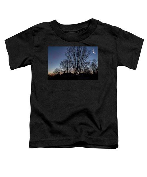 Moonlit Sunrise Toddler T-Shirt