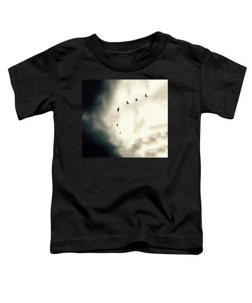Big Sky Crows Toddler T-Shirt