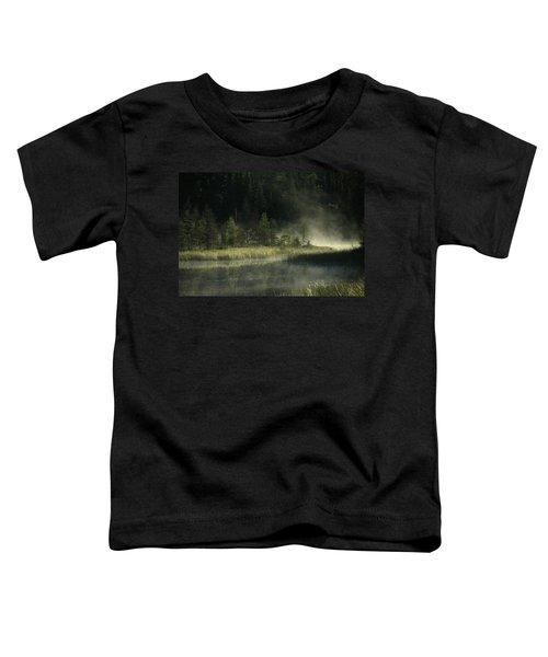 Morning Mist On The Gunflint Trail Toddler T-Shirt