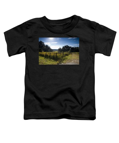 Morning On The Farm Toddler T-Shirt