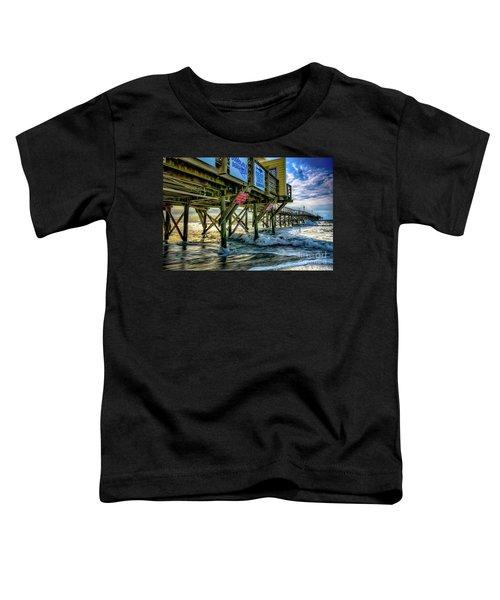 Morning Sun Under The Pier Toddler T-Shirt