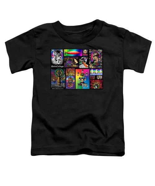 Mosaic Of Retrocollage I Toddler T-Shirt