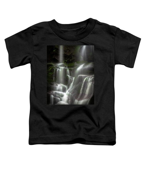 Mossy Waterfall Toddler T-Shirt