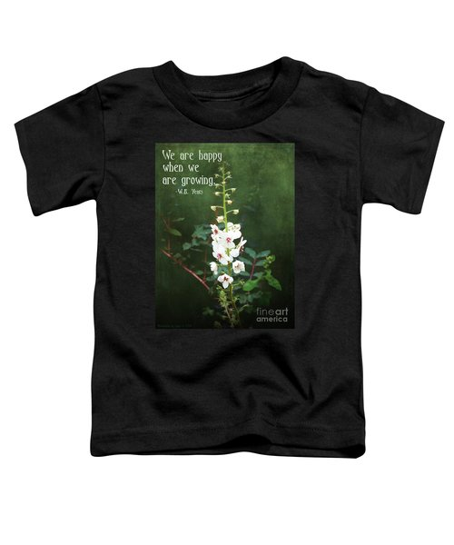 Moth Mullein Toddler T-Shirt