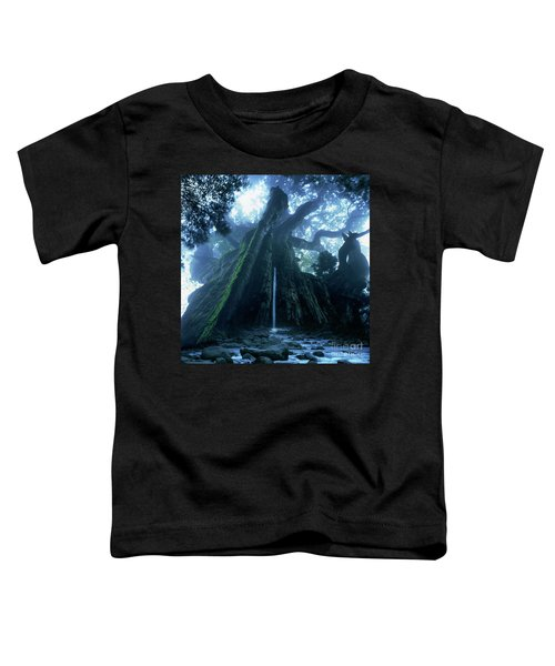 Mother Tree Toddler T-Shirt by Tatsuya Atarashi