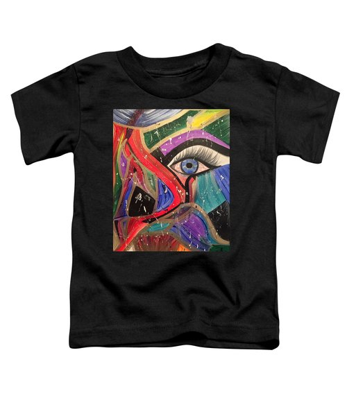 Motley Eye Toddler T-Shirt