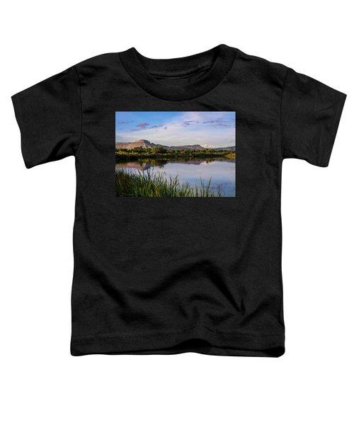 Mount Garfield In The Evening Light Toddler T-Shirt