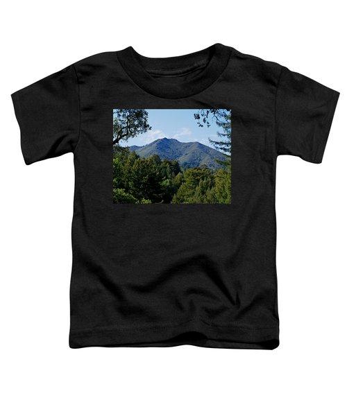 Mount Tamalpais Toddler T-Shirt
