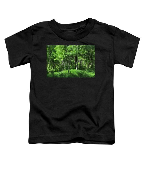 Mountain Greenery Toddler T-Shirt