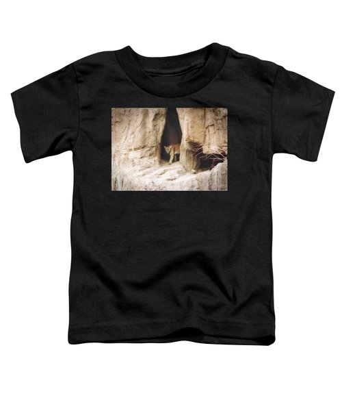 Mountain Lion - Light Toddler T-Shirt