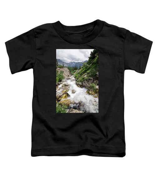 Mountain River Toddler T-Shirt