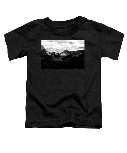 Mountain Valley Landscape Toddler T-Shirt