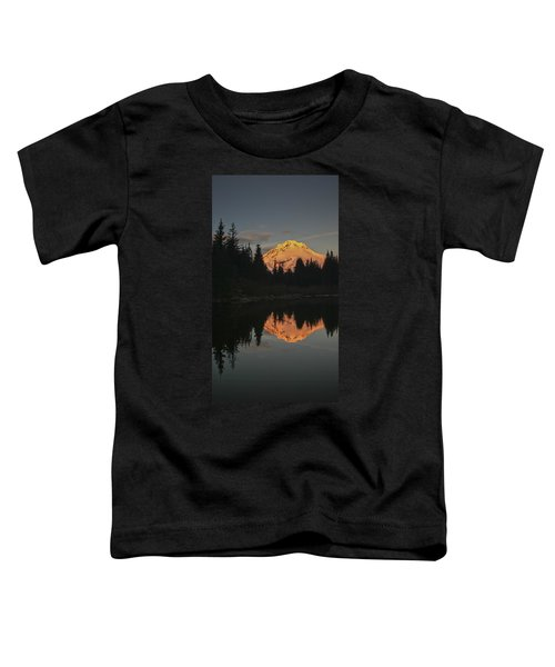 Mt Hood Alpenglow II Toddler T-Shirt
