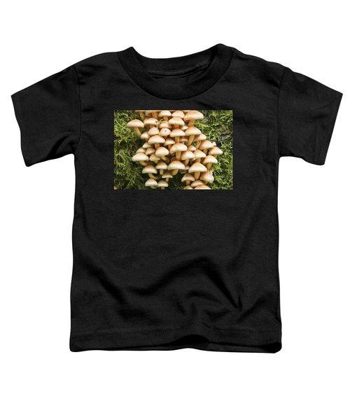 Mushroom Condo Toddler T-Shirt