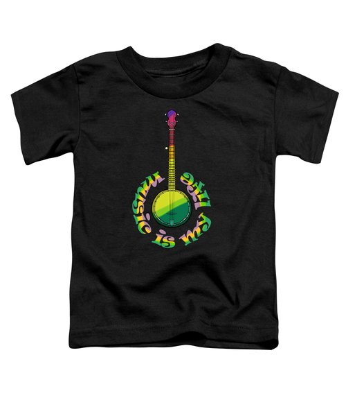 Music Is My Life Toddler T-Shirt