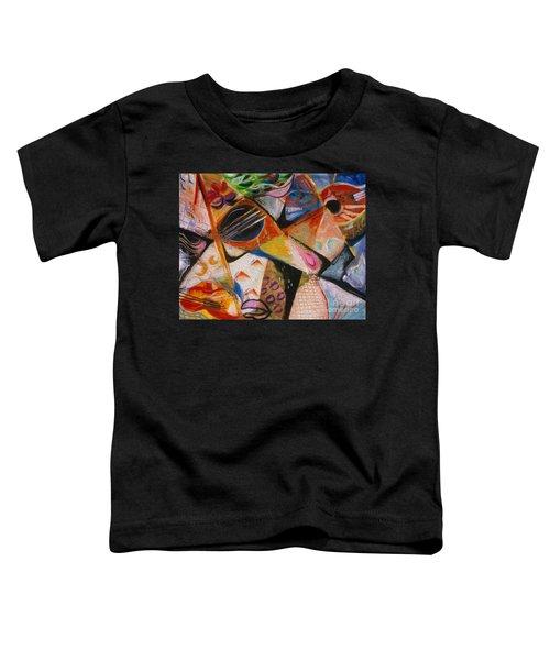 Musical Pastels Toddler T-Shirt