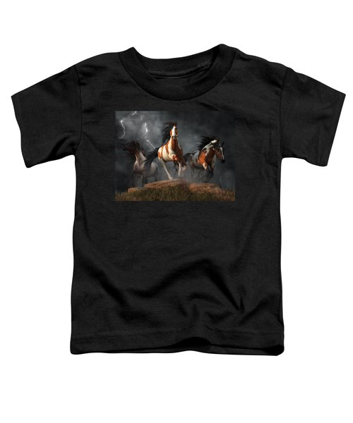 Mustangs Of The Storm Toddler T-Shirt