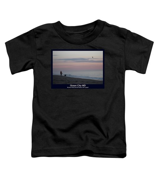 My Best Friend And The Beach Toddler T-Shirt