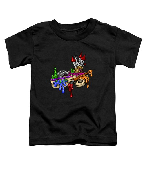 My Color Palette Toddler T-Shirt by Alexandra Franzese