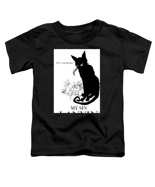Toddler T-Shirt featuring the digital art My Sin by ReInVintaged