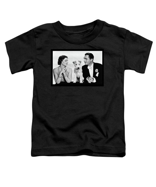 Myrna Loy Asta William Powell Publicity Photo The Thin Man 1936 Toddler T-Shirt