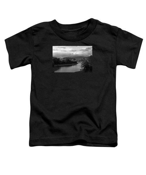 Nantahala River Blue Ridge Mountains Toddler T-Shirt