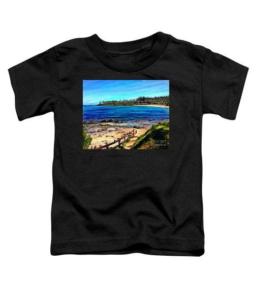 Napili Beach Gazebo Walkway Toddler T-Shirt