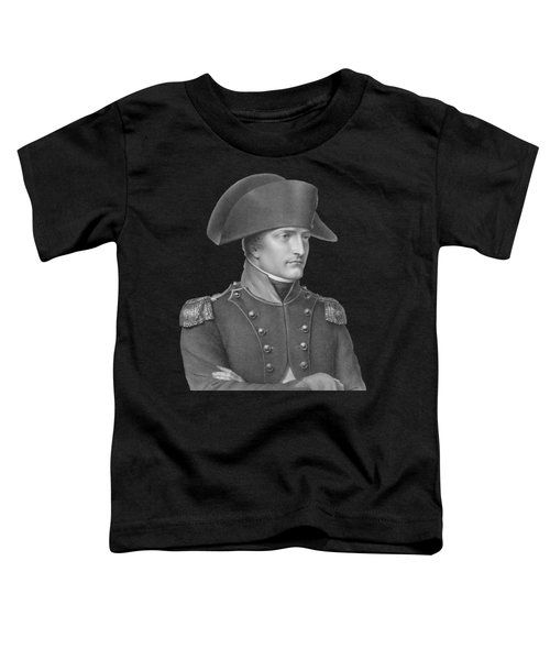 Napoleon Bonaparte In Uniform  Toddler T-Shirt