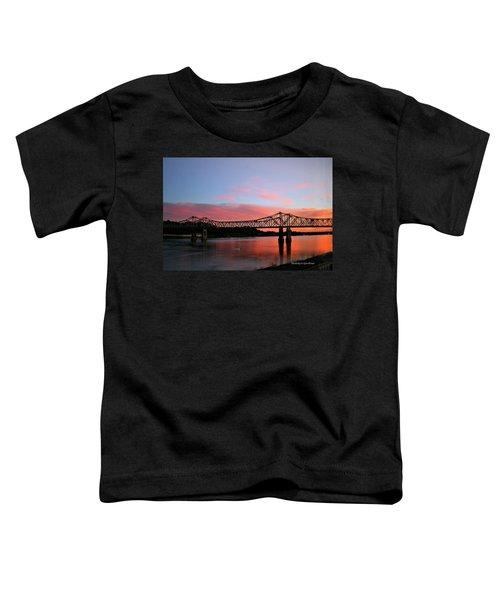 Natchez Sunset Toddler T-Shirt
