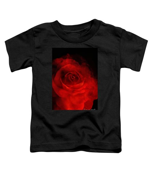 Toddler T-Shirt featuring the photograph Natures Flame by Stephen Mitchell