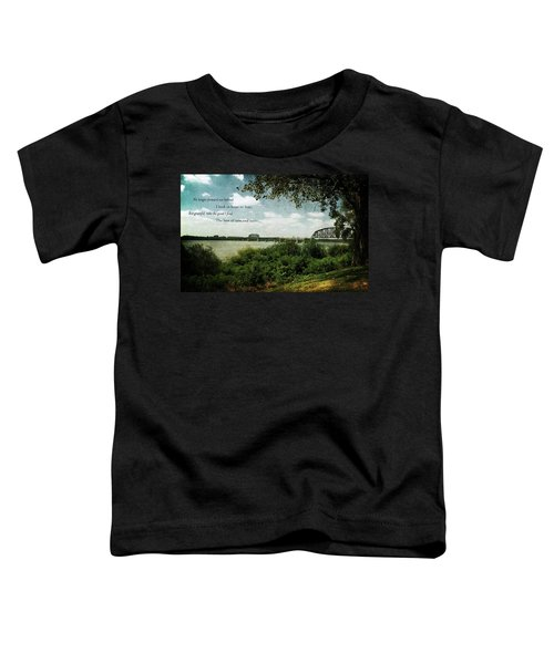 Natures Poetry Toddler T-Shirt