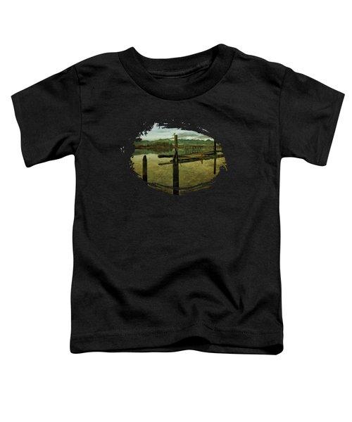 Nehalem Bay Reflections Toddler T-Shirt by Thom Zehrfeld