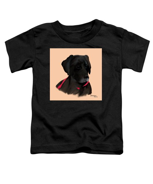 Toddler T-Shirt featuring the digital art Nellie by Gerry Morgan