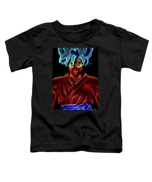 Neon Ss God Goku Toddler T-Shirt