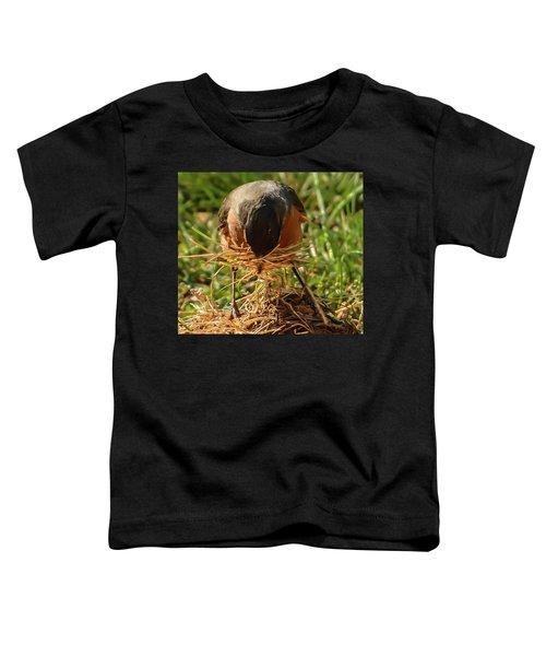 Nest Building Toddler T-Shirt