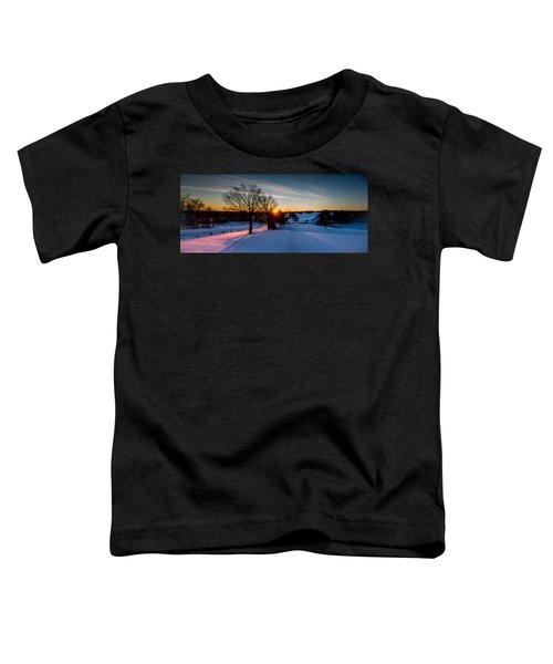 New England Sunrise Toddler T-Shirt