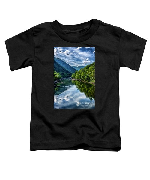New River Gorge National River 3 Toddler T-Shirt