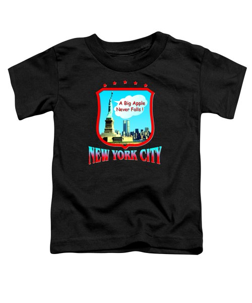 New York Big Apple Design Toddler T-Shirt