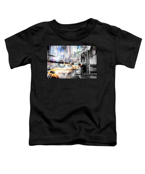 New York City Geometric Mix No. 9 Toddler T-Shirt