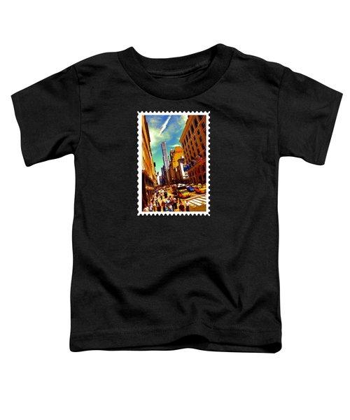 New York City Hustle Toddler T-Shirt