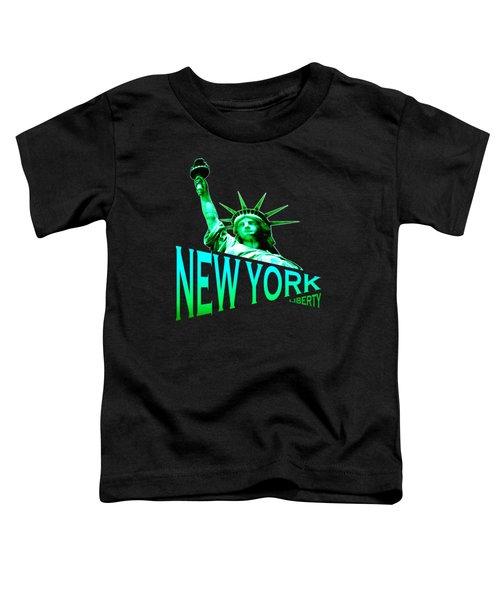 New York Liberty Design Toddler T-Shirt
