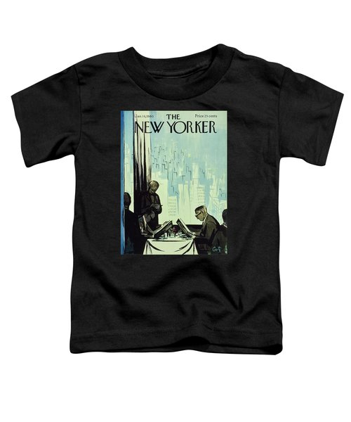 New Yorker January 16 1960 Toddler T-Shirt