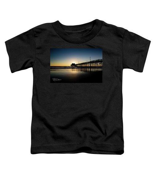 Newport Pier Toddler T-Shirt