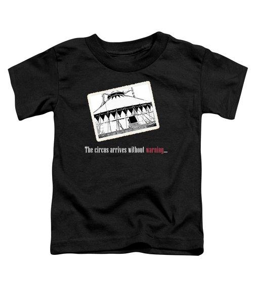 Night Circus Tee Black Toddler T-Shirt
