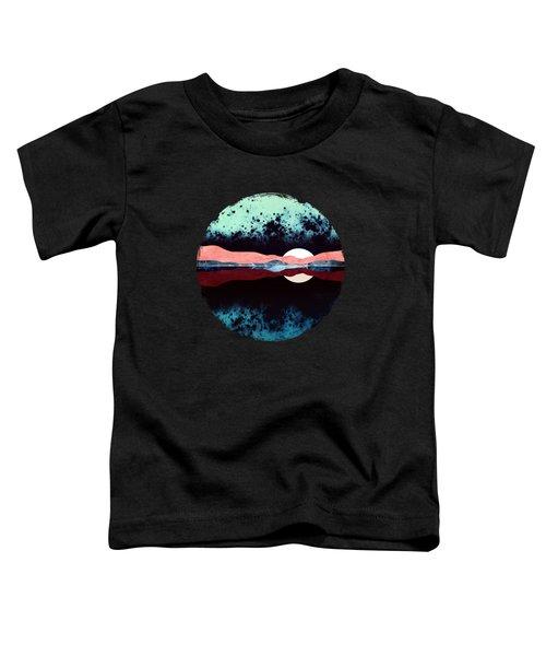 Night Sky Reflection Toddler T-Shirt