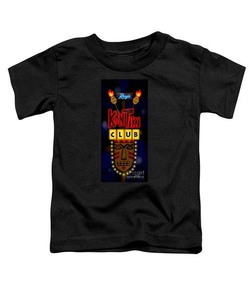 Nightclub Sign Rays Kon Tiki Club Toddler T-Shirt